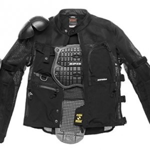 Chaqueta SPIDI T187Multitech Armor EVO Negro 3XL