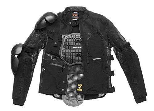 Chaqueta SPIDI T187Multitech Armor EVO Negro 3XL 1