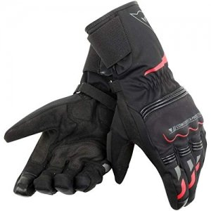 Guantes Dainese Tempest D-Dry Long Negro/Rojo XS