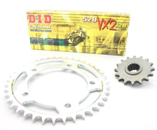 Kit arrastre D.I.D. VX2 para Kawasaki KLR 650 95/04 1