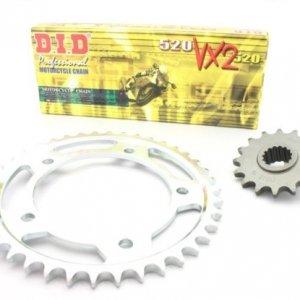 Kit de arrastre D.I.D. 520 VX2 para KTM 640 LC4