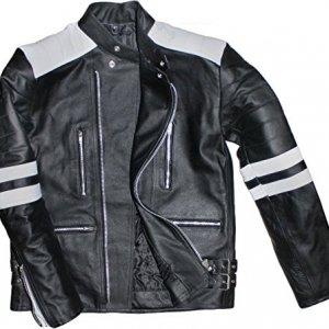 Cazadora German Wear retro Negro/Blanco 56