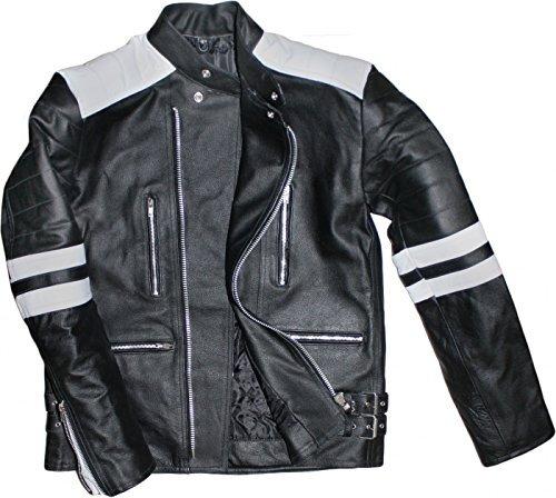 Cazadora German Wear retro Negro/Blanco 56 1
