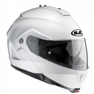 Casco modular HJC IS-MAX II Pearl White Ryan XS