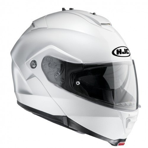 Casco modular HJC IS-MAX II Pearl White Ryan XS 1