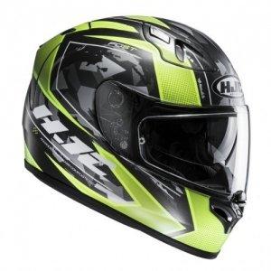 Casco HJC FG-ST Kume Black/Green XL