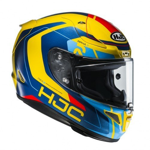 Casco HJC RPHA-11 Chakri BLUE/yellow L 1