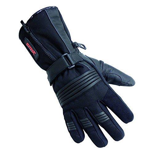 Guante piel MOTORX de Invierno Negro M 1