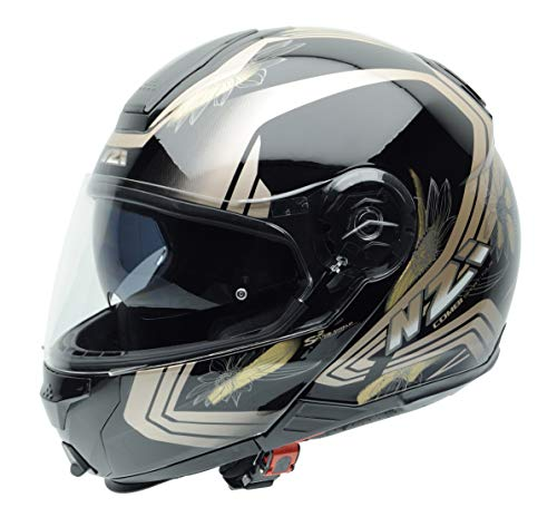 Casco modular NZI Combi Duo Graffic Makeup Gloss XL 1