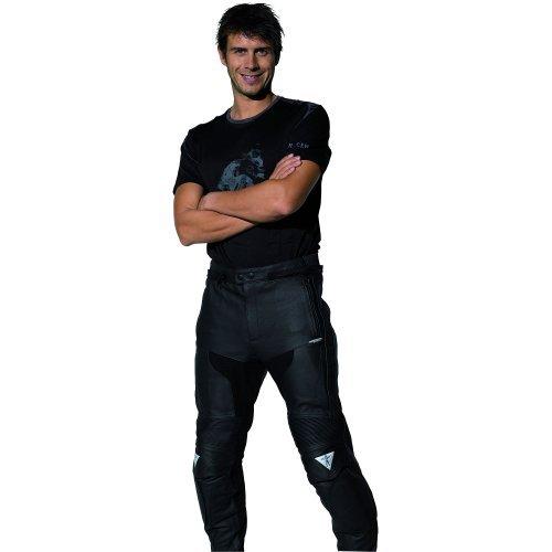 Pantalones Cuero Racer 12540 Negro 46 1