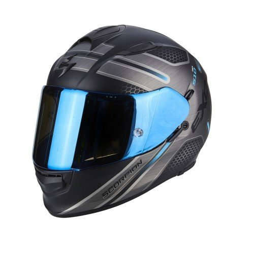 Casco Scorpion Exo 510 Air Route Negro/Azul S 1