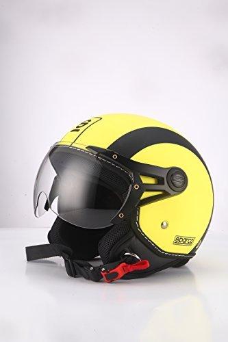 Casco Sparco Riders Jet Amarillo mate XS 1