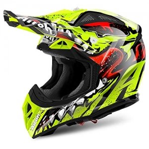 Casco Airoh Aviator 2.2 Grim Yellow XL