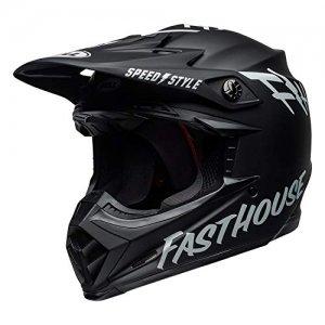 Casco Bell Moto-9 Mips Fasthouse Black/White XL