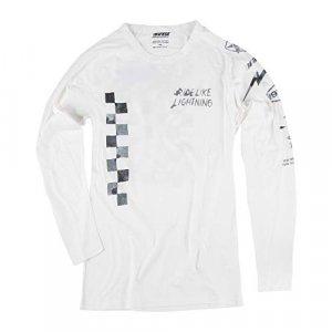 Camiseta Dainese Lightning72 LS Blanco M