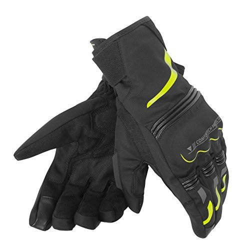 Guantes Dainese Tempest D-Dry Short Negro/Amarillo XL 1