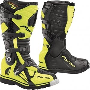 Botas Dominator COMP 2.0 Black/Yellow Fluo 48
