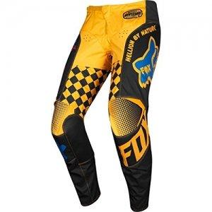Pantalones niño Fox 180 Czar Black/Yellow Y28