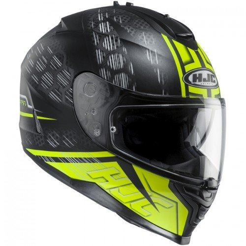 Casco HJC IS-17 Enver Black/Yellow M 1