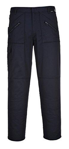 Pantalones Portwest con rodilleras Azul marino 40 1