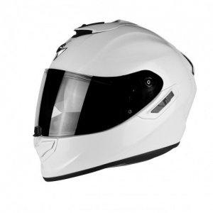 Casco Scorpiion Exo 1400 Air Solid Pearl White XL