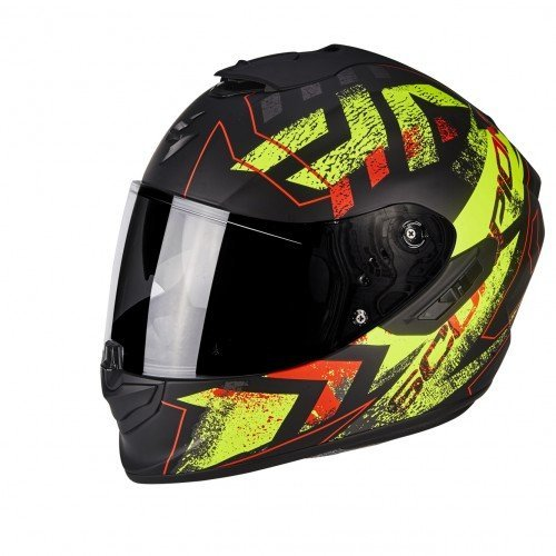 Casco Scorpion Exo 1400 Air Picta Negro/Amarillo S 1