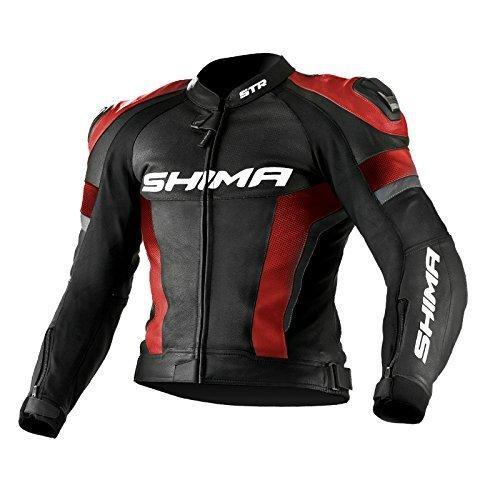 Chaqueta Shima STR Jacket Negro/Rojo 48 1