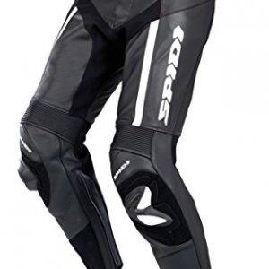 Pantalones cuero Spidi RR Pro Negro/Blanco 56