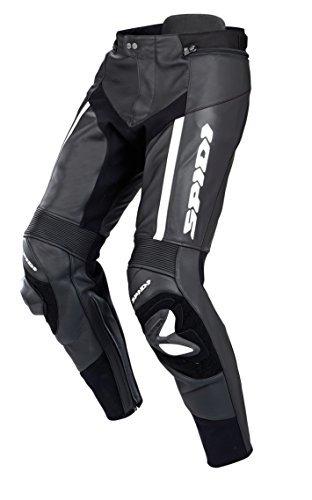 Pantalones cuero Spidi RR Pro Negro/Blanco 56 1