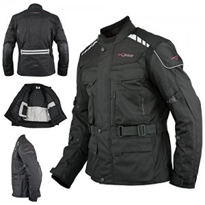 Chaqueta A-pro Roller Touring Negro L