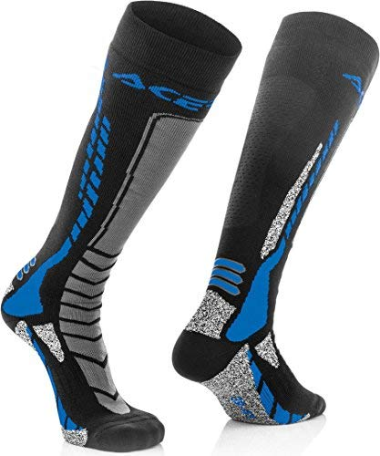Calcetines Acerbis MX Pro Negro/Azul S/M 1
