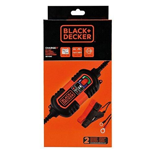 Cargador Mantenimiento Black+Decker BDV090 6-12V 1