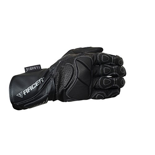 Guantes mujer Racer 6322-3 Summer Fit Negro M 1