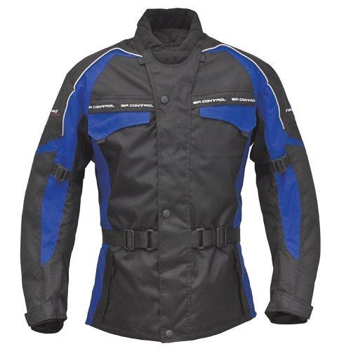 Chaqueta Roleff Racewear Reno RO 70i Negro/Azul L 1
