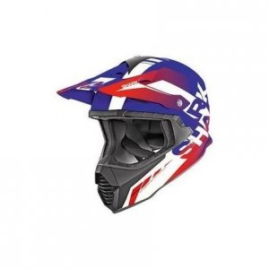 Casco cross Shark Varial Anger Azul/Blanco/Rojo S
