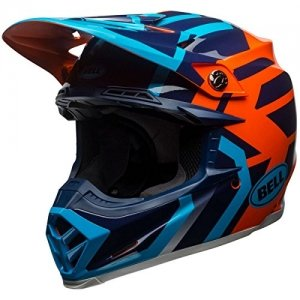 Casco Bell Moto 9 MIPS District Azul/Naranja S