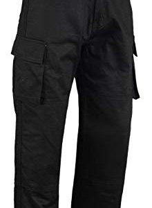 Pantalones Bikers Gear Cargo Kevlar Negro 40R
