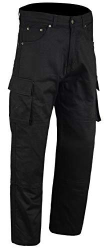 Pantalones Bikers Gear Cargo Kevlar Negro 40R 1