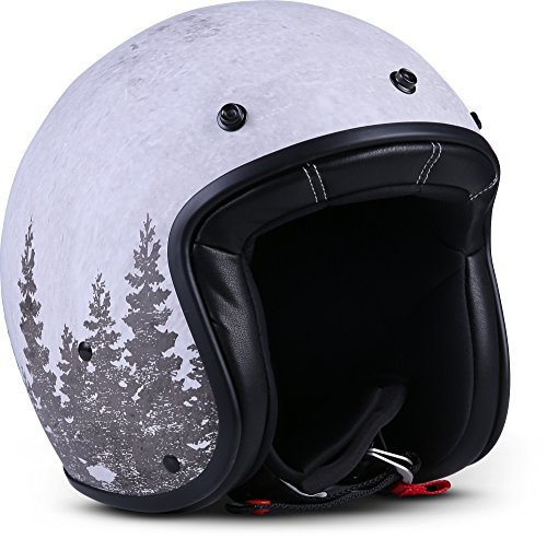 Casco Rebel R9 Deer Blanco S 1