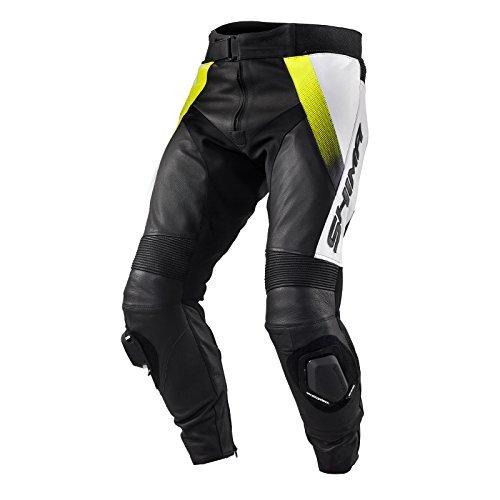 Pantalones Shima STR Trouser Black/Yellow 52 1