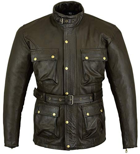 Chaqueta Bikers Gear Trailmaster Marron 2XL 1
