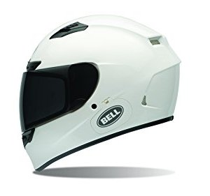 Casco Bell Qualifier DLX Gloss White Solid M