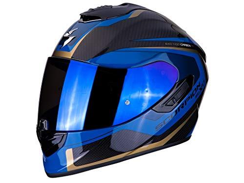 Casco Scorpion Exo 1400 Air Carbon Espirit Blue XXL 1