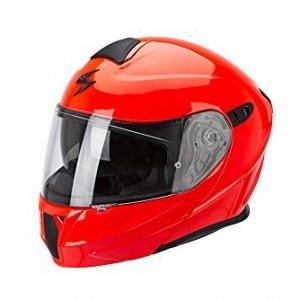 Casco modular Scorpion Exo 920 Rouge Fluor XXL