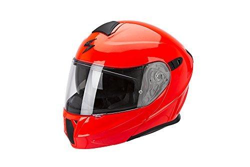 Casco modular Scorpion Exo 920 Rouge Fluor XXL 1