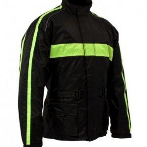 Impermeable Roleff Racerwear Negro/Amarillo M