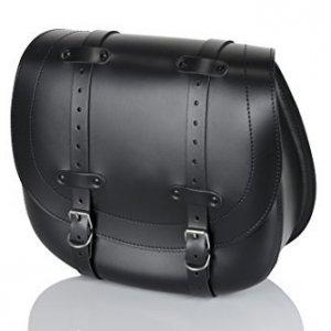 Alforja cuero Customacces AP0008N derecho negro