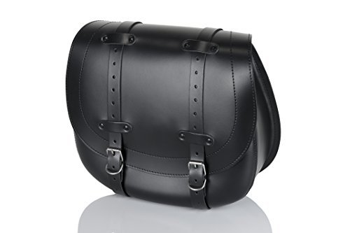 Alforja cuero Customacces AP0008N derecho negro 1