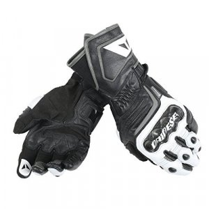 Guantes Dainese Carbon D1 Long V82 Negro/Blanco 3XL