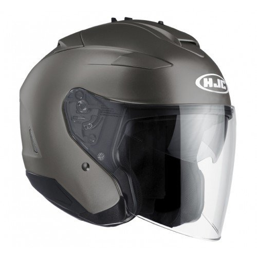 Casco HJC IS-33 II Negro/Semi mate Titanium M 1